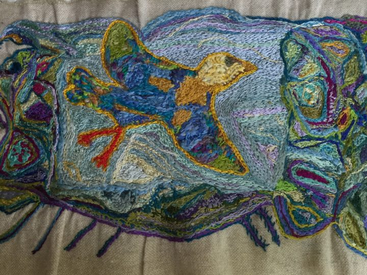 Embroidery– One Stitch at a Time